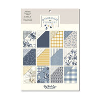 My Minds Eye - Gingham Foundry Collection - 6 x 8 Paper Pad