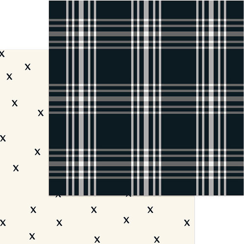 My Minds Eye - Gingham Farm Collection - 12 x 12 Double Sided Paper - Madi