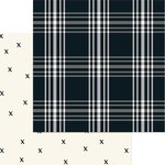 My Minds Eye - Gingham Farms Collection - 12 x 12 Double Sided Paper - Madi