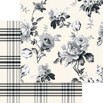 My Minds Eye - Gingham Farm Collection - 12 x 12 Double Sided Paper - Georgia