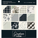 My Minds Eye - Gingham Farms Collection - 6 x 6 Paper Pad