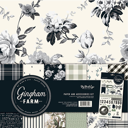 My Minds Eye - Gingham Farm Collection - 12 x 12 Collection Pack