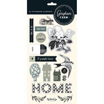 My Minds Eye - Gingham Farm Collection - Chipboard Stickers