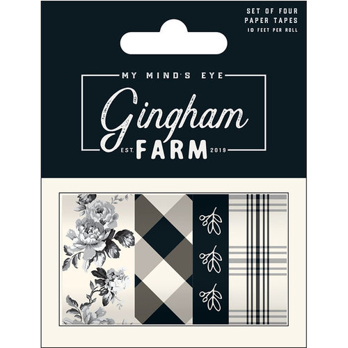 My Minds Eye - Gingham Farm Collection - Washi Tape