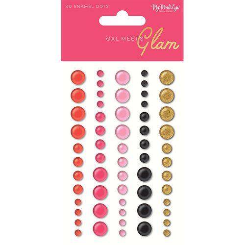 My Minds Eye - Gal Meets Glam Collection - Enamel Dots