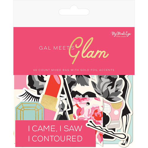 My Minds Eye - Gal Meets Glam Collection - Mixed Bag with Foil Accents