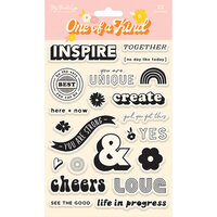 My Minds Eye - One of a Kind Collection - Clear Acrylic Stamps