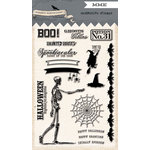 My Minds Eye - Happy Haunting Collection - Halloween - Clear Acrylic Stamps