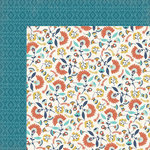 My Minds Eye - Happy Camper Collection - 12 x 12 Double Sided Paper - Wanderlust