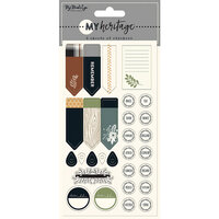 My Minds Eye - My Heritage Collection - Planner Sticker Set