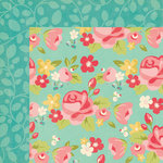 My Minds Eye - Hello Gorgeous Collection - 12 x 12 Double Sided Paper - Jessica