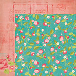 My Minds Eye - Hello Gorgeous Collection - 12 x 12 Double Sided Paper - Chloe