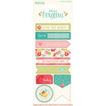 My Minds Eye - Hello Gorgeous Collection - Cardstock Stickers - Alphabet and Word
