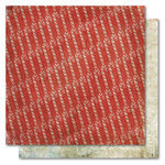 My Mind's Eye - Holly Jolly Collection - Christmas - 12 x 12 Double Sided Paper - Candy Canes, CLEARANCE