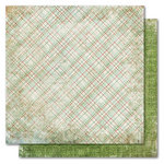My Mind's Eye - Holly Jolly Collection - Christmas - 12 x 12 Double Sided Paper - Holiday Plaid, CLEARANCE
