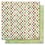 My Mind's Eye - Holly Jolly Collection - Christmas - 12 x 12 Double Sided Paper - Jingle Bells, CLEARANCE