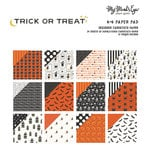 My Minds Eye - Trick or Treat Collection - Halloween - 6 x 6 Paper Pad