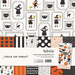 My Minds Eye - Trick or Treat Collection - Halloween - 12 x 12 Paper and Accessories Kit