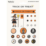 My Minds Eye - Trick or Treat Collection - Halloween - Decorative Brads