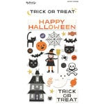 My Minds Eye - Trick or Treat Collection - Halloween - Puffy Stickers