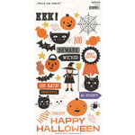 My Minds Eye - Trick or Treat Collection - Halloween - Cardstock Stickers