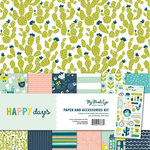 My Mind's Eye - Happy Days Collection - 12 x 12 Collection Pack