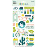 My Mind's Eye - Happy Days Collection - Cardstock Stickers