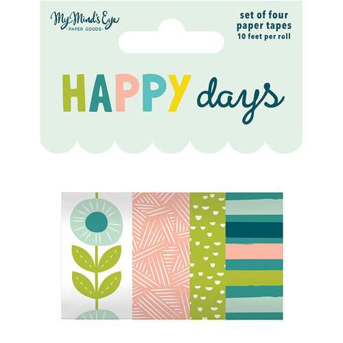My Mind's Eye - Happy Days Collection - Washi Tape