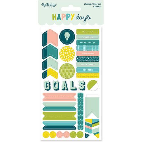 My Mind's Eye - Happy Days Collection - Planner Sticker Set