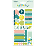 My Mind's Eye - Happy Days Collection - Planner Sticker Set