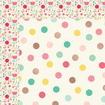 My Minds Eye - Hooray Collection - 12 x 12 Double Sided Paper with Foil Accents - Party Time