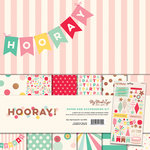 My Minds Eye - Hooray Collection - 12 x 12 Paper and Accessories Kit