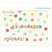 My Minds Eye - Hooray Collection - Card Set with Foil Accents