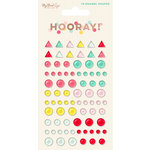 My Minds Eye - Hooray Collection - Enamel Shapes