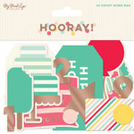 My Minds Eye - Hooray Collection - Mixed Bag with Foil Accents