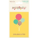 My Minds Eye - Hooray Collection - Journal Cards with Foil Accents