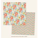 My Minds Eye - Hello World Collection - Discovery - 12 x 12 Double Sided Paper - Flowers