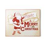My Minds Eye - Holiday Collection - Christmas - Standing Art - Holiday Santa