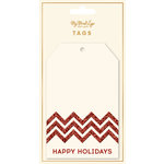 My Minds Eye - Holiday Collection - Tags - Happy Holidays