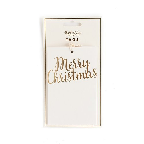 My Minds Eye - Holiday Collection - Tags - Merry Christmas