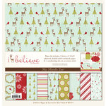 My Mind's Eye - I Believe Collection - Christmas - Paper Kit, CLEARANCE