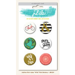 My Mind's Eye - Jubilee Collection - Mint Julep - Flair Pins - Wild