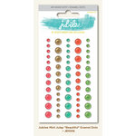 My Minds Eye - Jubilee Collection - Mint Julep - Enamel Dots - Beautiful