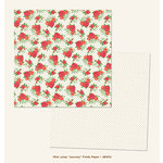 My Minds Eye - Jubilee Collection - Mint Julep - 12 x 12 Double Sided Paper - Journey Fields