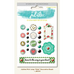 My Mind's Eye - Jubilee Collection - Mint Julep - Decorative Brads - Ride