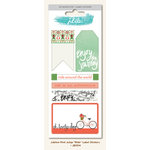 My Minds Eye - Jubilee Collection - Mint Julep - Cardstock Stickers - Labels - Ride