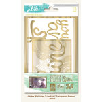 My Mind's Eye - Jubilee Collection - Mint Julep - Transparency Frames - Live It Up