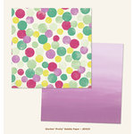My Minds Eye - Jubilee Collection - Sherbet - 12 x 12 Double Sided Paper - Pretty Bubbly