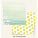 My Minds Eye - Jubilee Collection - Sherbet - 12 x 12 Double Sided Paper - Happy Ombre
