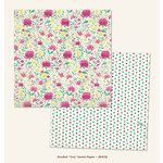 My Mind's Eye - Jubilee Collection - Sherbet - 12 x 12 Double Sided Paper - You Sweet